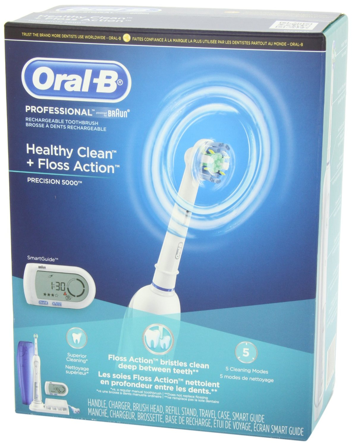 oral b smartseries 5000 a review rh toothbrush reviews com Braun Oral-B Toothbrush Replacement Heads Braun Oral-B Toothbrush Replacement Heads